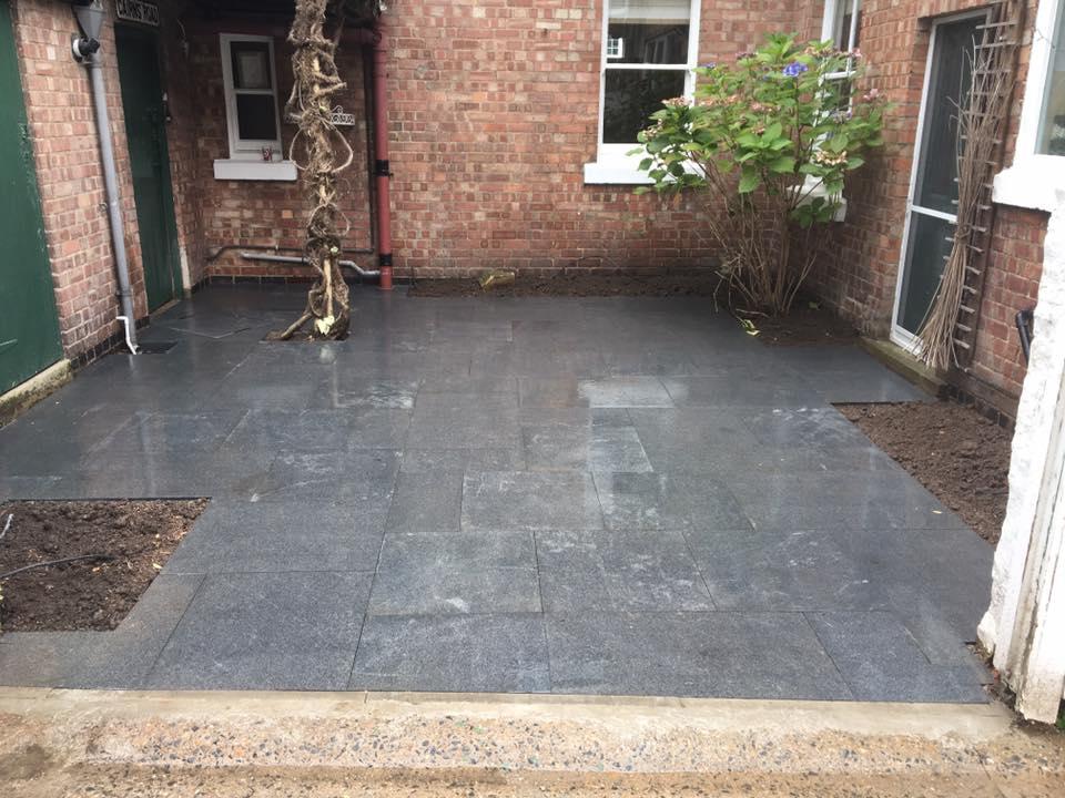 Granite Paving/Driveway Patio