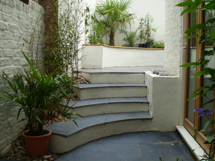 Small Terrace Rear Garden