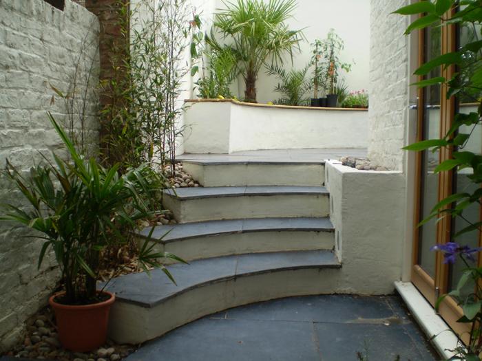 Small Terrace Rear Garden