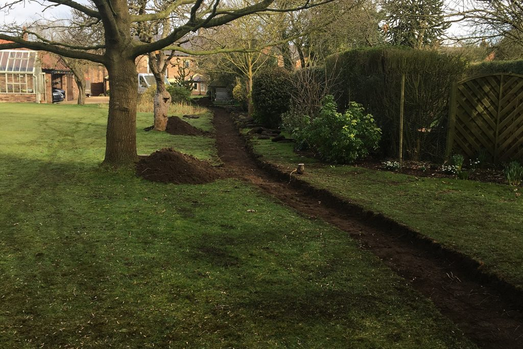Sanders Landscaping Services - Before