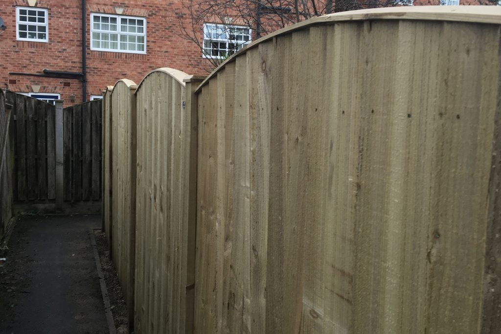 Sanders Landscaping Services New Fencing